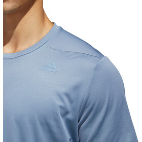 adidas Supernova T-shirt de running Homme, raw grey